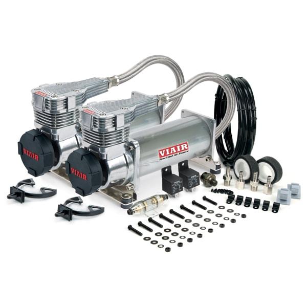 VIAIR 485C Kompressor platin Dual Pack