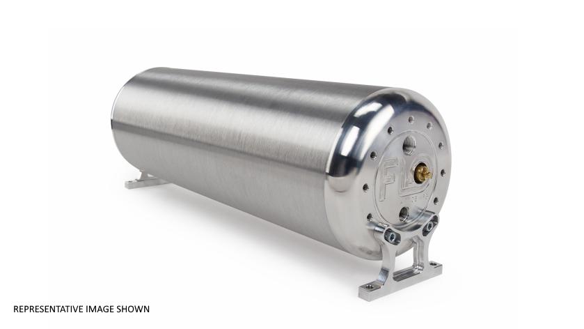 """FLO Airride Aluminium Tank roh 18"""" / 24"""" / 28"""""""