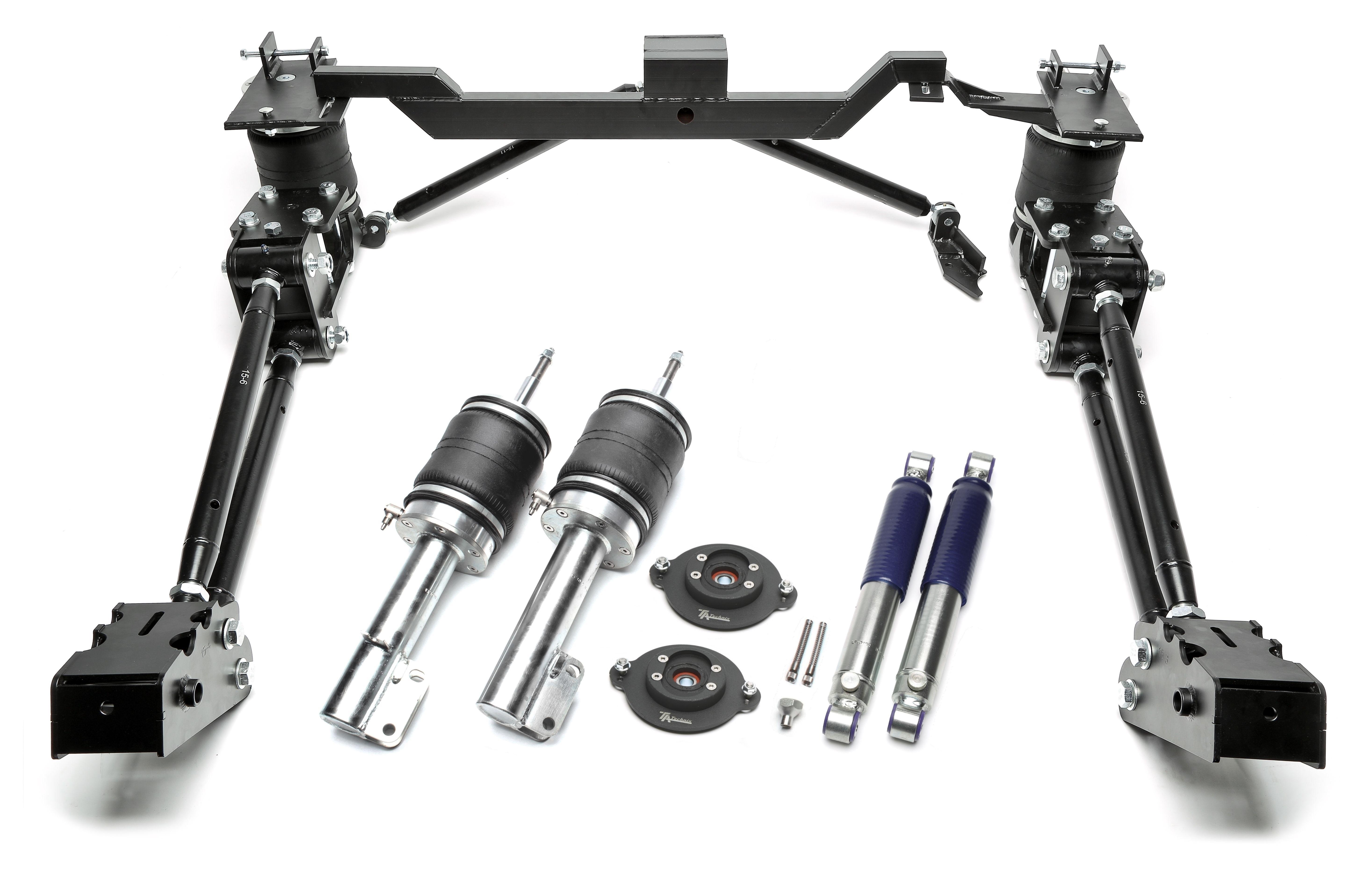 TA Technix härteverstellbarer Luftdämpfersatz für  Volkswagen Caddy 1