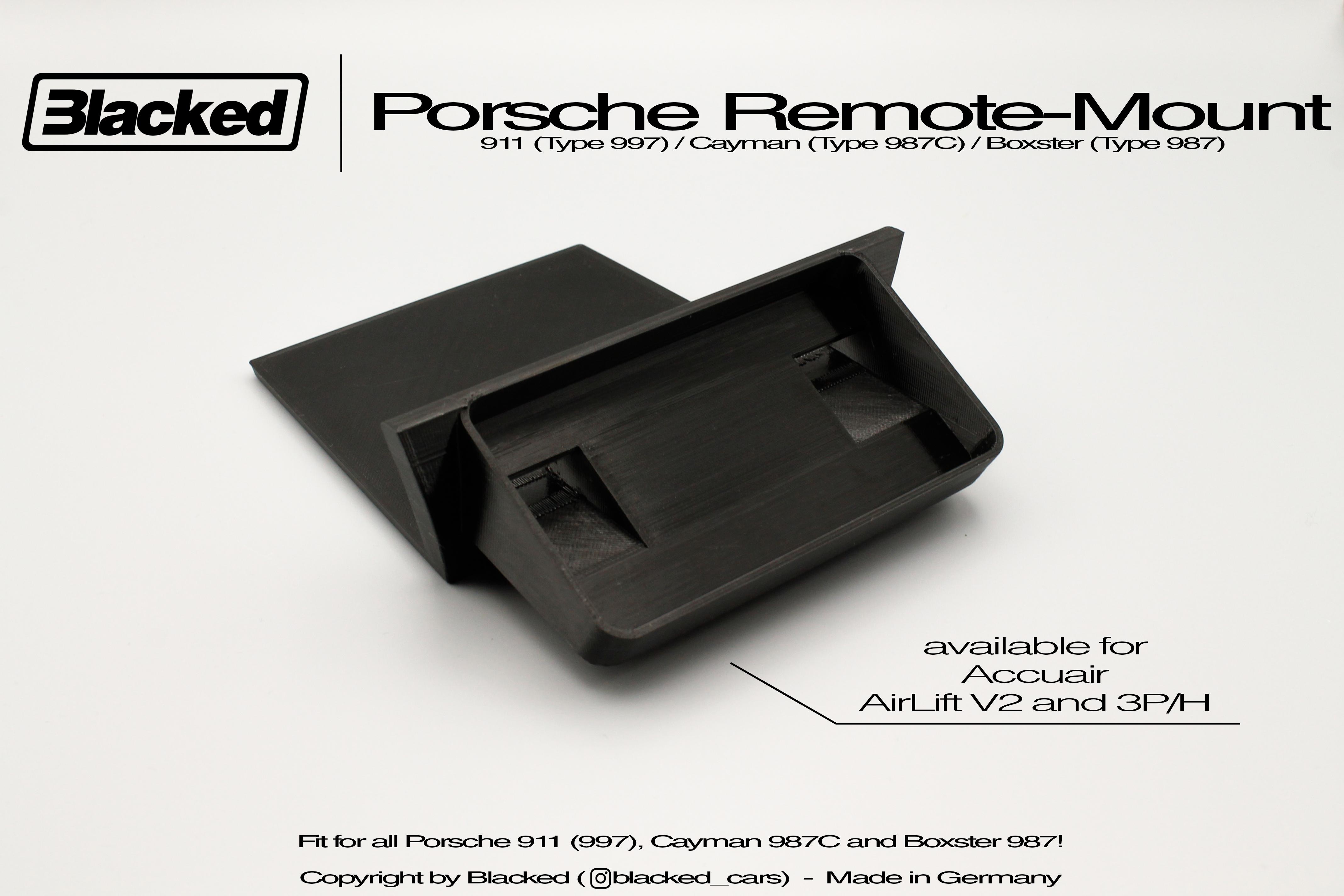 Halterung Porsche 997 987 Airlift/Accuair Touchpad