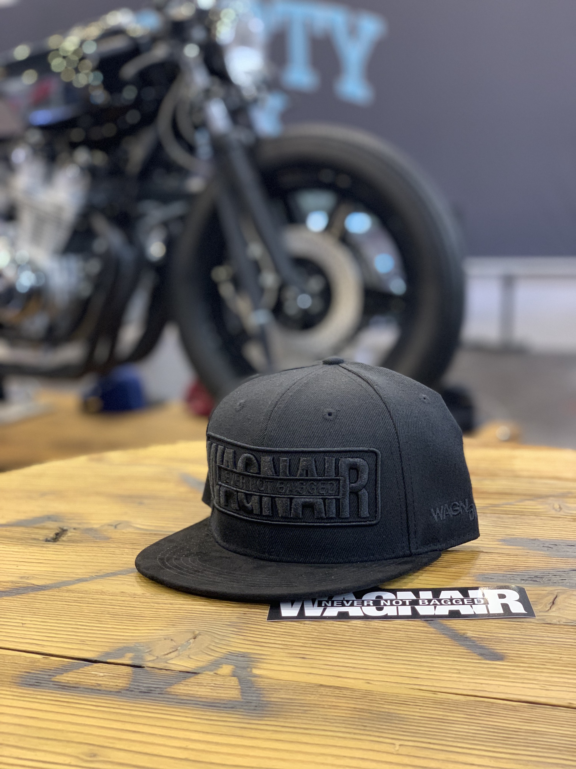 "WagnAir ""NEVER NOT BAGGED"" Snapback"