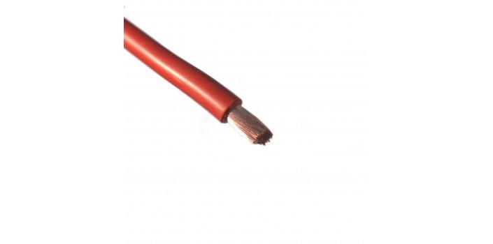 Stromkabel 10mm² Vollkupfer rot