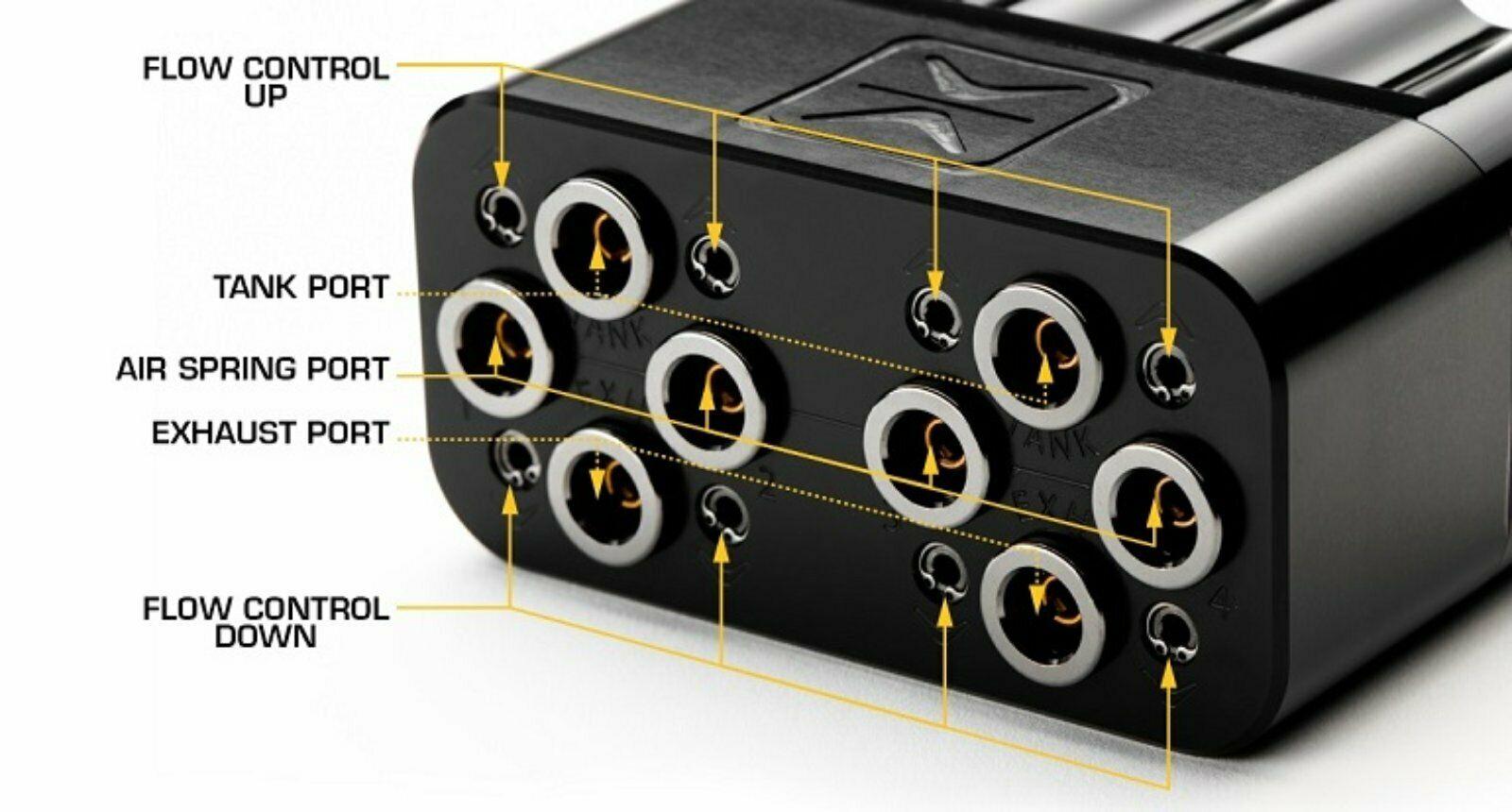 Accuair VX4 Ventilblock