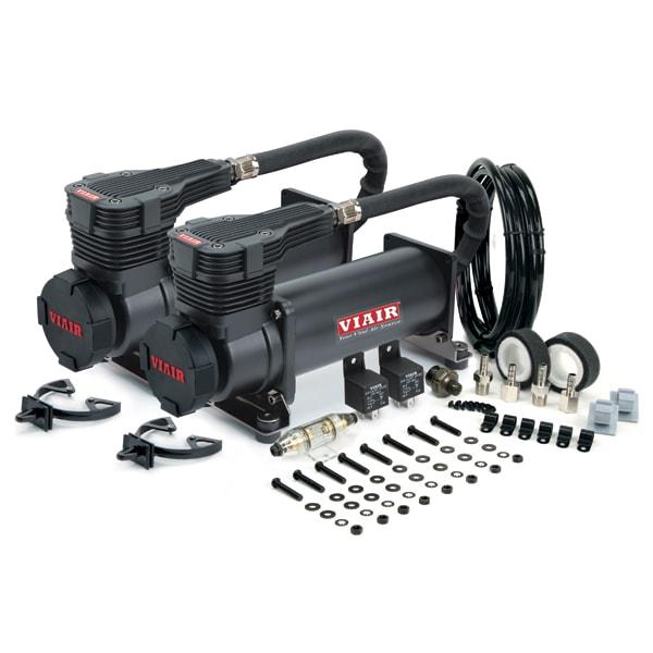 VIAIR 485C Kompressor schwarz Dual Pack